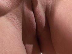 Frisky brunette Vivien seduced her boyfriend with her slim body