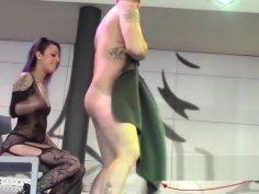 Striptease de MAgic Javi con Jesyka Diamond FEDA 2017