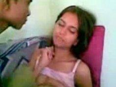 Seductive Indian nympho undresses for having a sex
