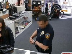 Two sluts get punished for trying to steal at the pawnshop