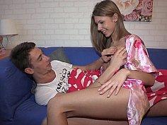 Russian sweety Angelika & her BF