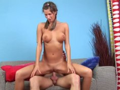 Oversexed teen with hell working mouth hole and promising anus
