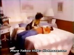 Classic mom and son having sex in bedroom more vids at - Hotmoza.com
