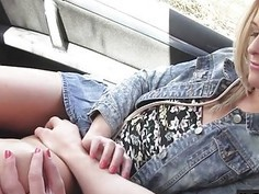 Stranded teen Vinna Reed pounded by stranger dude in public