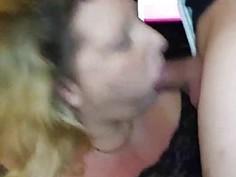 Cum Hungry Chubby Granny Eats Jizz