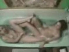 All naked slutty slim chicks play in bathroom and get ready for a hot threesome