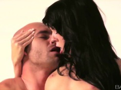Gina Devine knows how to make her boyfriend fully pleased