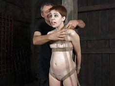 Gal next door waits for her hardcore bdsm torture