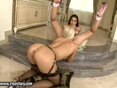 Wivien and Zafira are having an awesome lesbian sex
