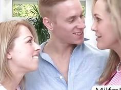 Big boobs milf Brandi Love threesome with Zoey Monroe