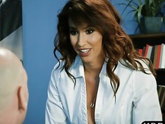 Latina office milf Isis Love leaks valuable company info