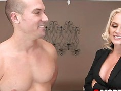 Happy Alena Croft stabbed by huge penis with facial
