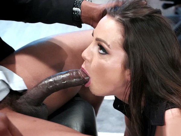 Abigail Mac Space Sex Sucked On His Cock And Balls 1
